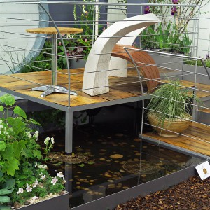 водный объект в саду