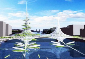 Solar-Powered Vertical Farm на London Bridge